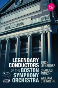 Legendary Conductors of The Boston Symphony Orchestra Box Set (5 DVDs)