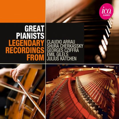Great Pianists Box Set (5 CDs)