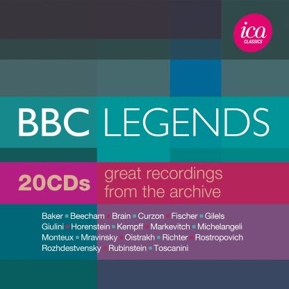 BBC Legends Limited Edition Box Set (20 CDs)