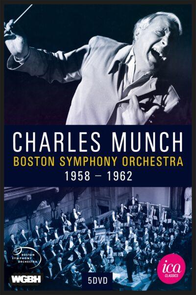 Charles Munch – Boston Symphony Orchestra 1958-1962 (5 DVDs)