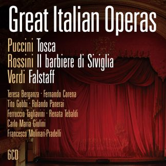 Great Italian Operas (6 CDs)