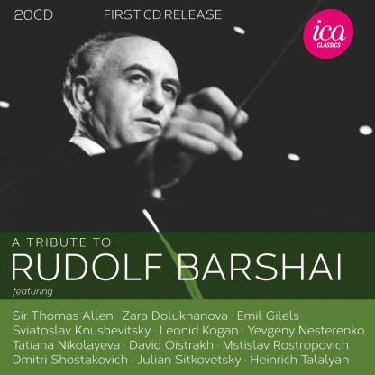 A Tribute to Rudolf Barshai (20 CD set)